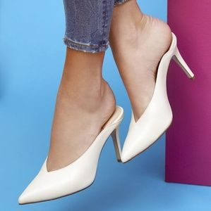 Sole Society Leather Mules